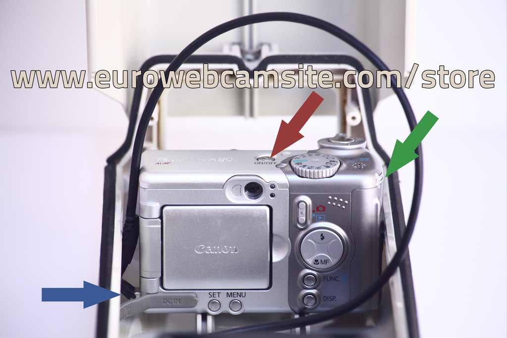 Custodia Webcam Canon A80