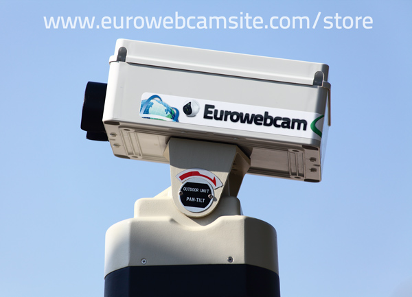 motore webcam telecamera brandeggio comandato dal PC