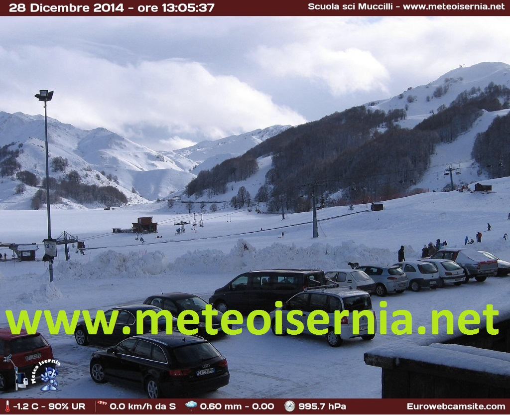 Webcam Campitello Matese pianoro