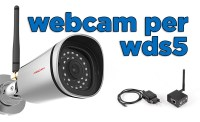 Webcam IP meteo per WDS5 Timelapse